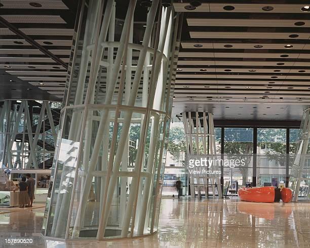 Sendai Mediatheque Sendai Japan Architect Toyo Ito Sendai Mediatheque Ground Floor Lobby