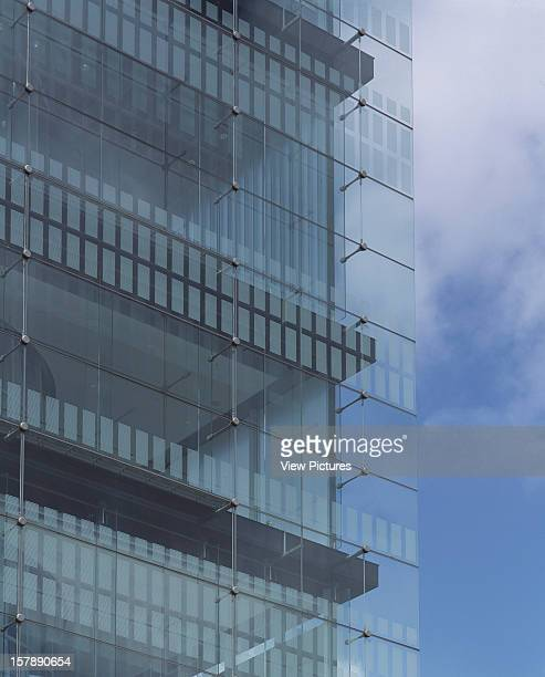 Sendai Mediatheque Sendai Japan Architect Toyo Ito Sendai Mediatheque Detail Of Corner Glazing On Street Facade