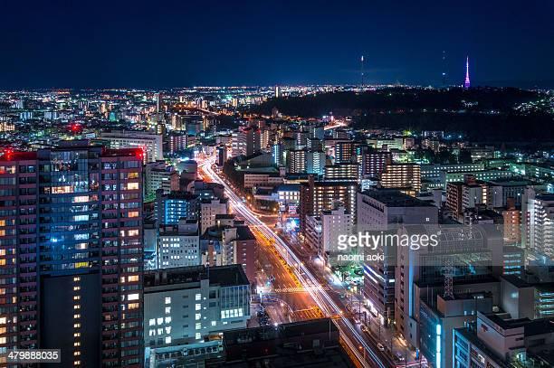 Sendai night view