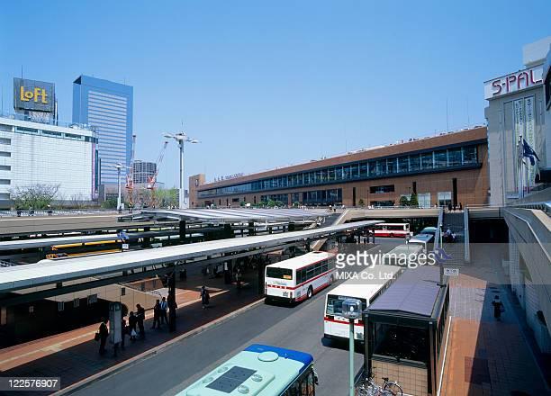 Sendai Station, Sendai, Miyagi, Japan