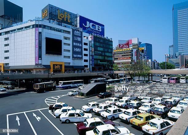 sendai station, sendai, miyagi, japan - miyagi prefecture stock pictures, royalty-free photos & images