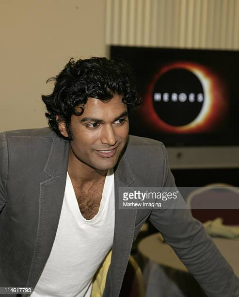 """Sendhil Ramamurthy during The Academy of Television Arts and Sciences Presents An Evening with """"Heroes"""" - VIP Reception at Leonard H. Goldenson..."""