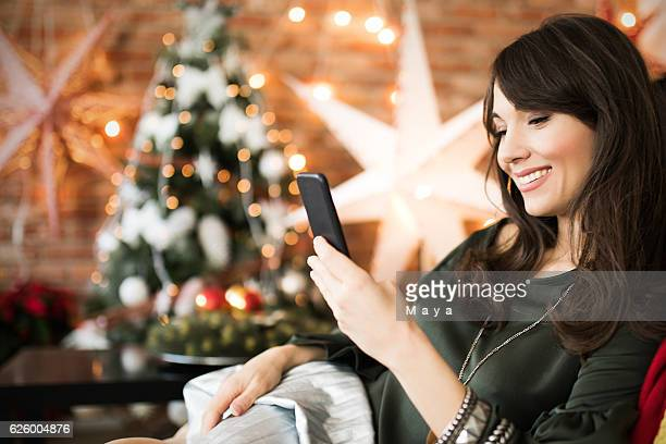 Sending Christmas greetings