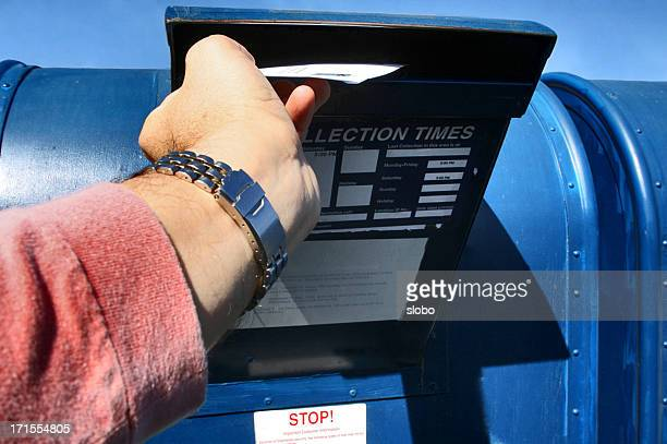 sending letter - mailbox stock pictures, royalty-free photos & images