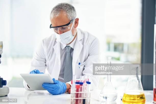 Sending through his findings
