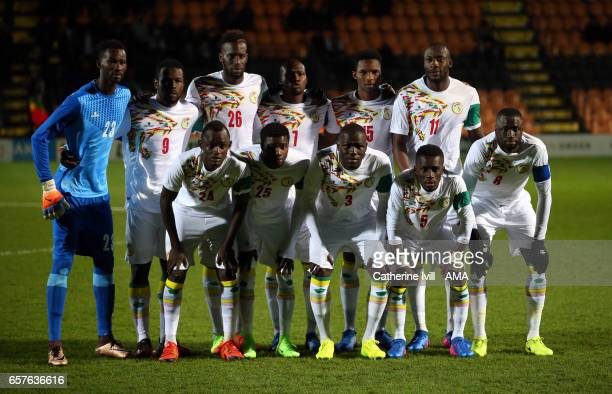 Senegal team group photo during the International Friendly match between Nigeria and Senegal at The Hive on March 23 2017 in Barnet England