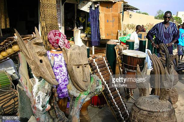 Senegalese handicrafts
