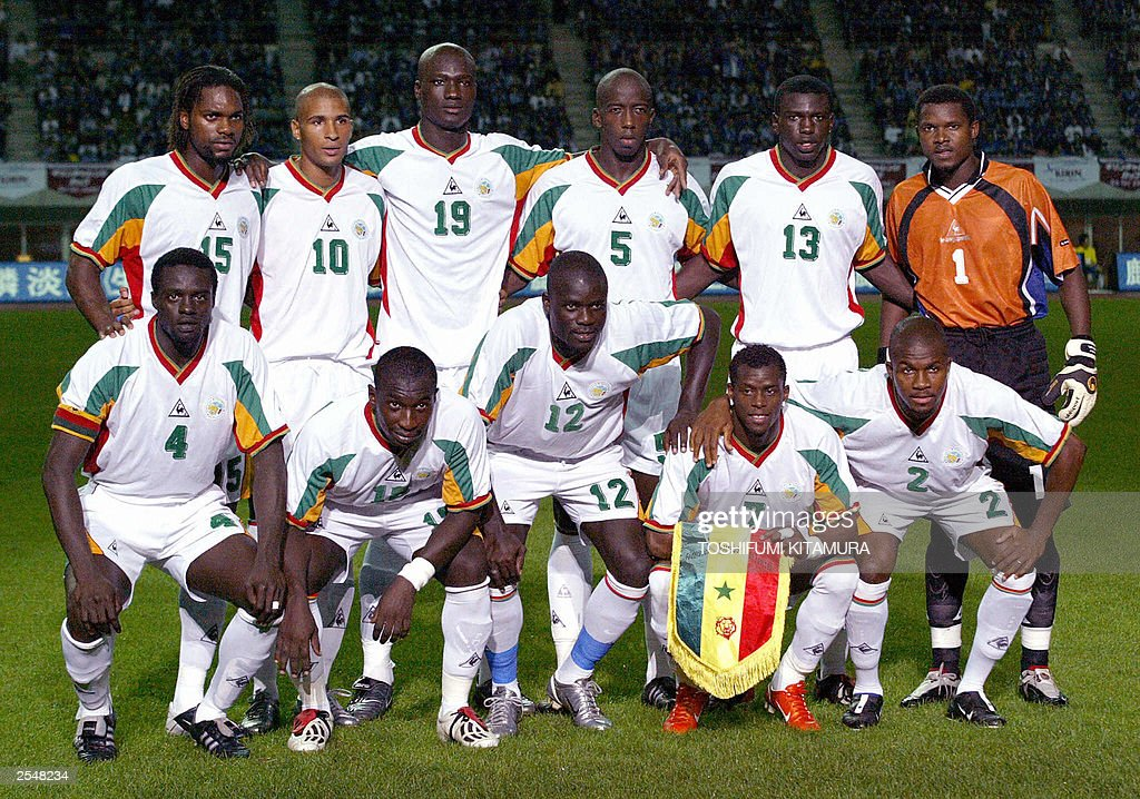 Senegalese national football team player : News Photo