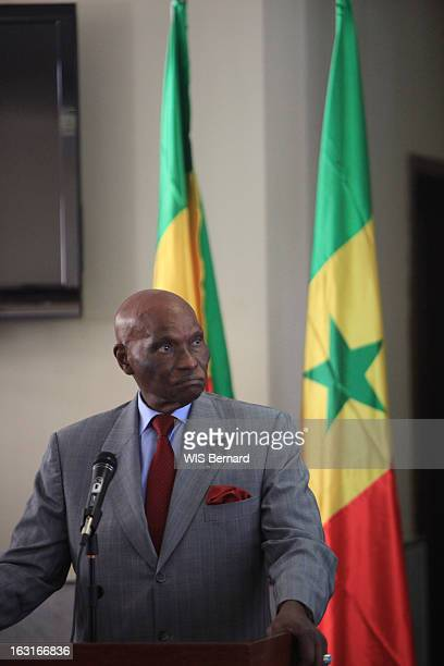 Senegalese President Abdoulaye Wade In Benghazi To Meet The Heads Of The Libyan Rebel. Le président du Sénégal Abdoulaye WADE, 85 ans, en visite à...