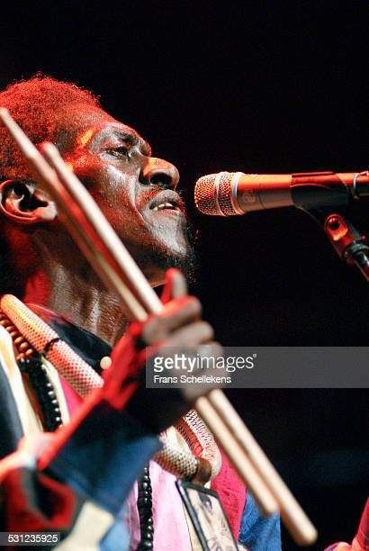 Senegalese singer Cheikh Lo performs at the North Sea Jazz Festival in Ahoy on July 16th 2006 in Rotterdam, Netherlands.