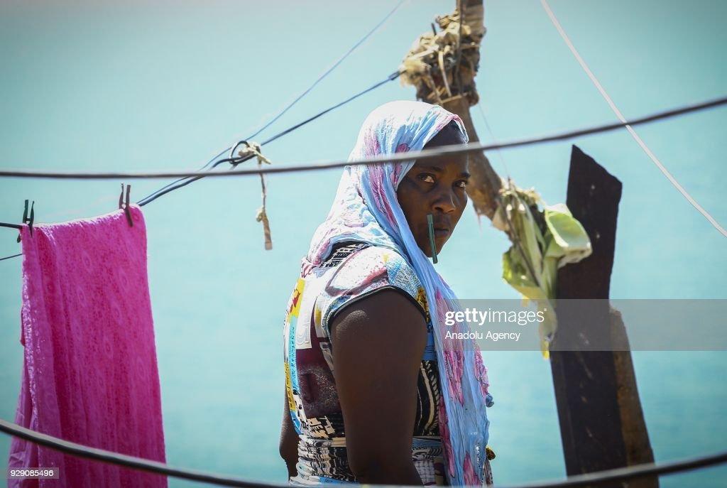 Goree Island known as 'Island of Shame' in Senegal's Dakar : News Photo