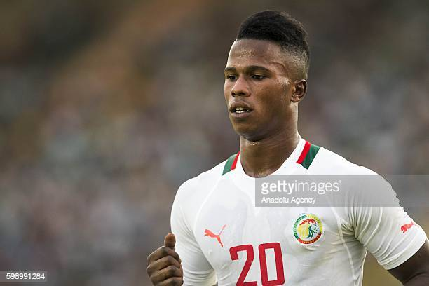 Senegal's Keita Balde Diao is in action during the 2017 African Cup of Nations qualification football match between the national teams of Senegal and...