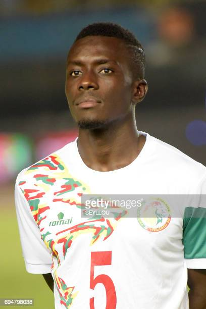 Senegal's midfielder Idrissa Gueye is pictured prior to the 2019 Africa Cup of Nations qualifying football match between Senegal and Equatorial...