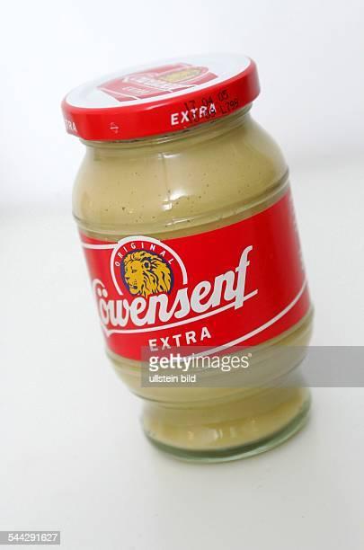 Senf Senfglas mit Löwensenf extra