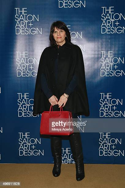Senior Accessories Editor at WWD Roxanne Robinson attends The Salon Art Design Vernissage Party at the Park Avenue Armory on November 12 2015 in New...