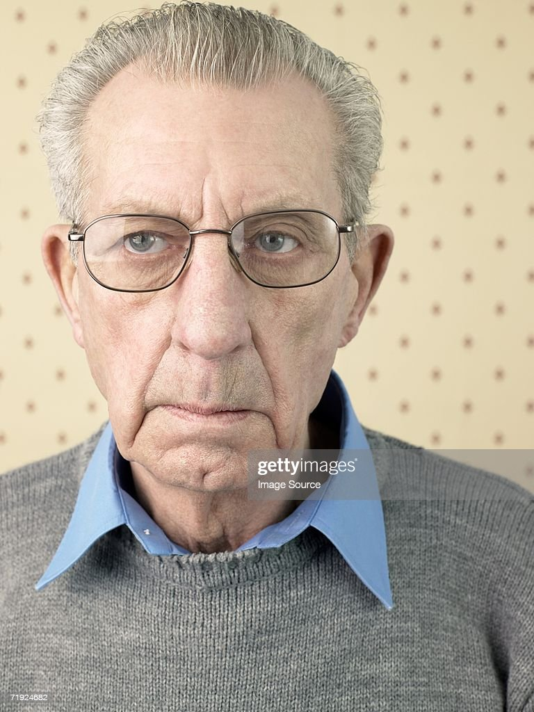 Senior adult man : Stock Photo