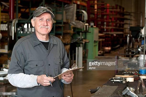Senior Adult Manufacturing Employee
