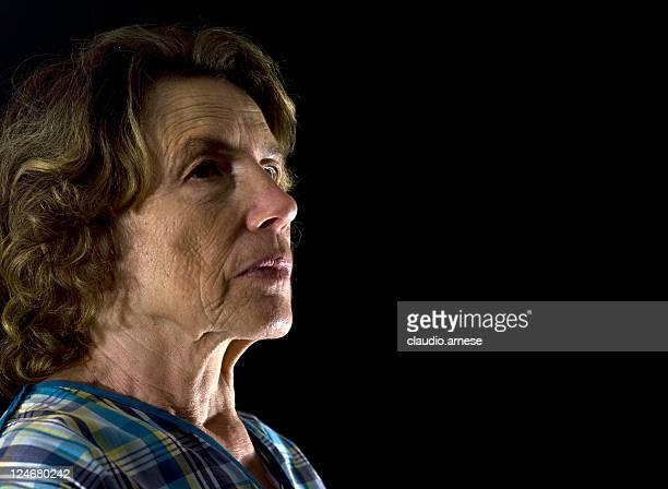 Senior Adult Portrait. Color Image