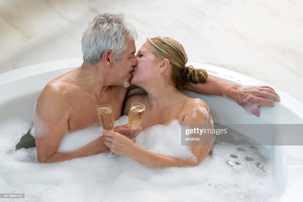 Old naked people in hot tubs #5