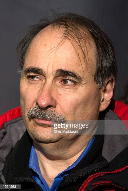 Senior Advisor David Axelrod at a grassroots rally with President Barack Obama at Jiffy Lube Live in Bristow More than 24000 people attended the...