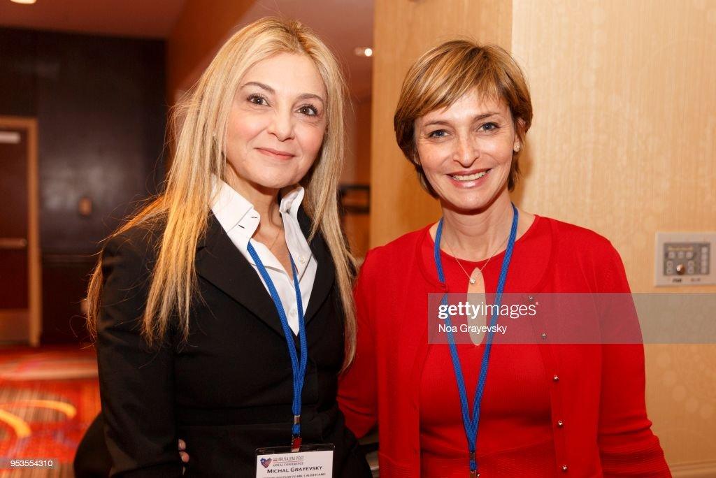 Senior Advisor to Ronald S. Lauder and President of JCS International  Michal Grayevsky (L