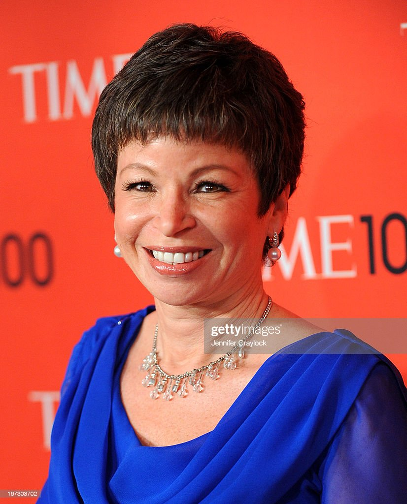 Senior Advisor to the President of the United States Valerie Jarrett attends the 2013 Time 100 Gala at Frederick P. Rose Hall, Jazz at Lincoln Center on April 23, 2013 in New York City.