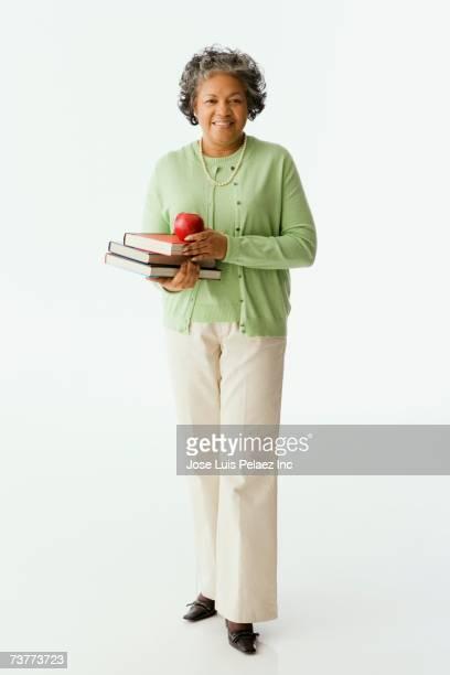 Senior African female teacher