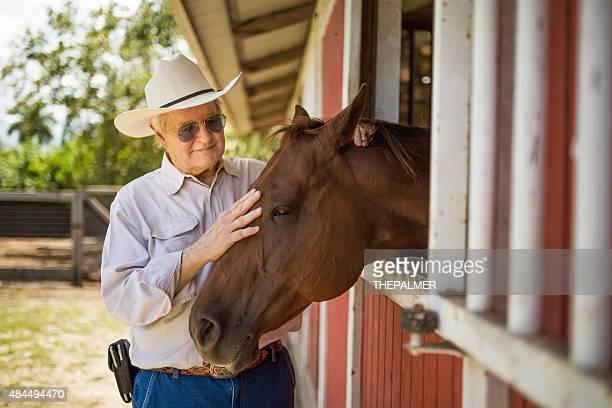 Senior y su caballo