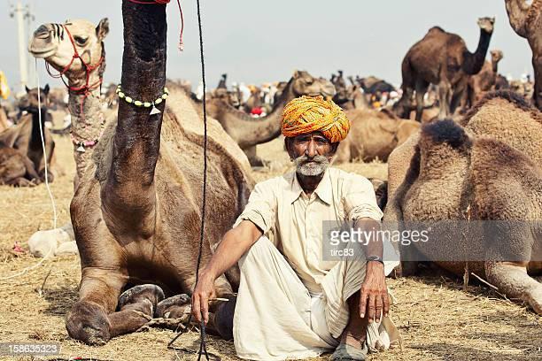 senior asian bedouin man portrait - bedouin stock pictures, royalty-free photos & images