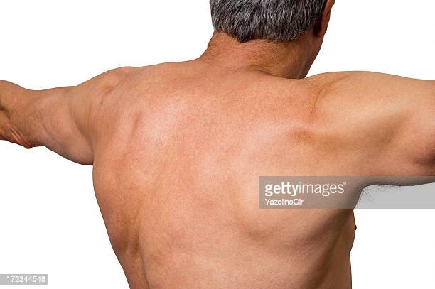 Senior Athlete - Upper Back (clipping path)