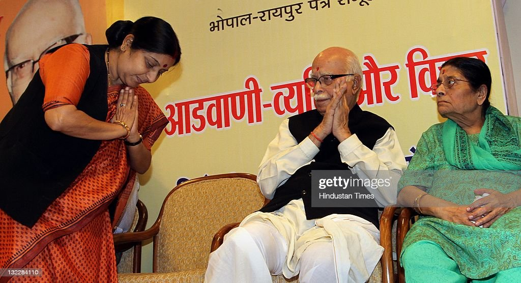 BJP senior leader L.K.Advani on his 84th birthday : News Photo