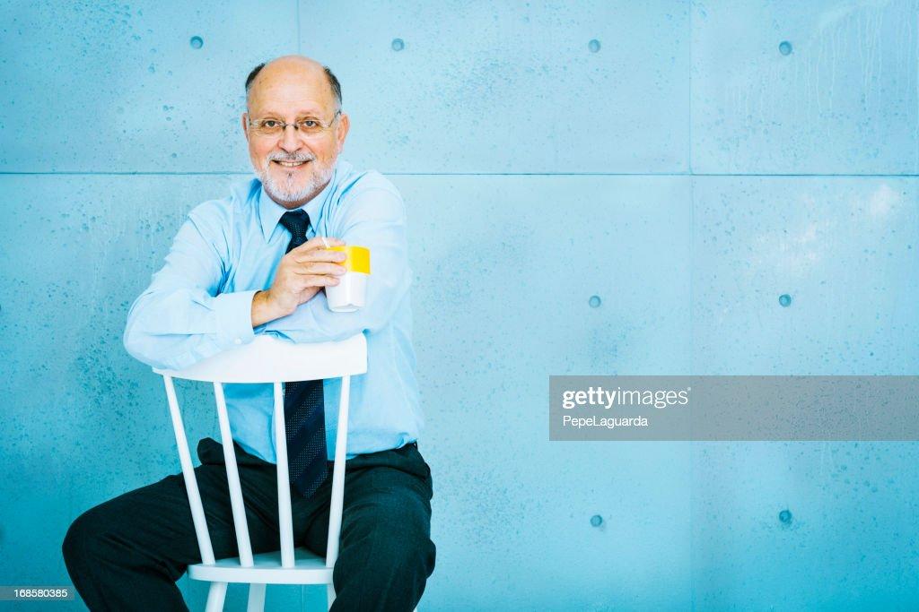 Senior businessman : Stock Photo