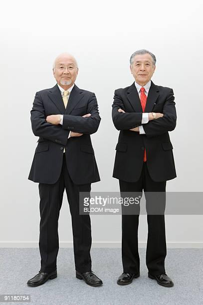 Senior businessmen, portrait