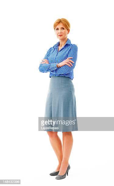 Senior Geschäftsfrau