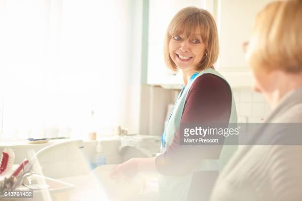 Senior careworker