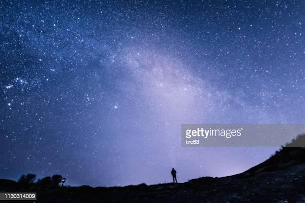 高級白種人星天背景 - 威爾斯 英國 個照片及圖片檔