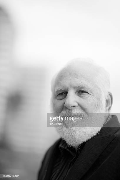 Senior Caucasian man with beard