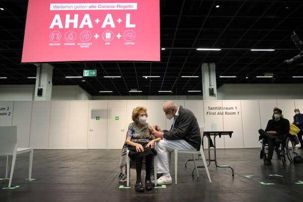 DEU: Vaccine Centers Open In North Rhine-Westphalia