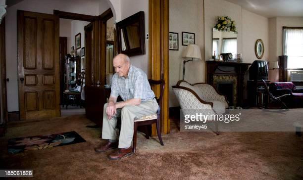 Senior Citizen sitting in a chair