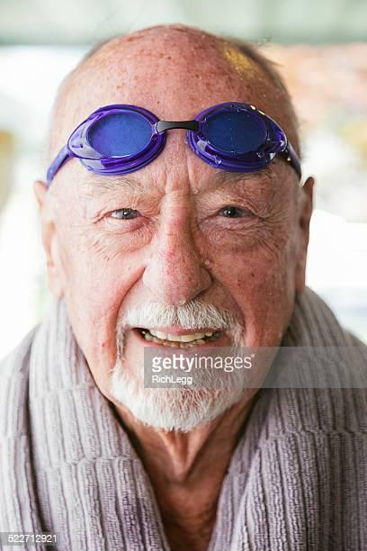 Senior Citizen Swimmer