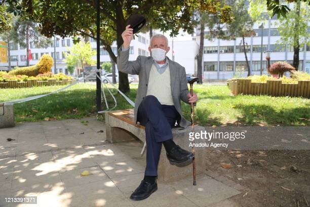 Senior citizens enjoy warm weather after people over 65-year-old and patients of chronic illnesses across Turkey are allowed to leave their homes,...