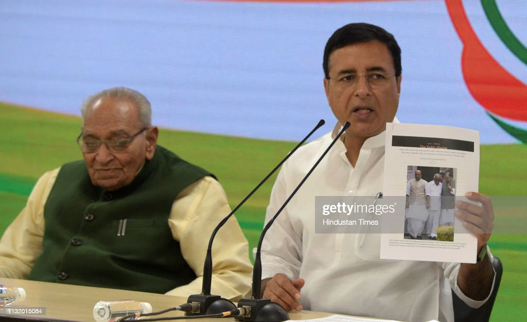 IND: Congress Press Conference Over Allegations Of Pay-Offs To BJP Leaders