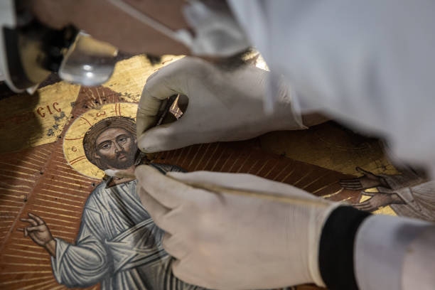 TUR: Expert Restorer Works To Conserve Istanbul's Cultural Heritage Icons