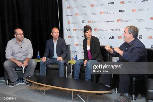 Senior consultant, Perimeter Partners Jason Della Rocca, Video game creator Jordan Mechner, managing director, Ubisoft Toronto Jade Raymond and...