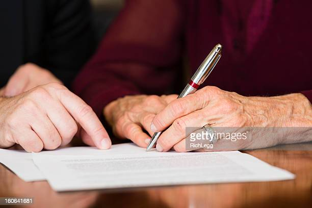 senior contract - handwriting stock pictures, royalty-free photos & images