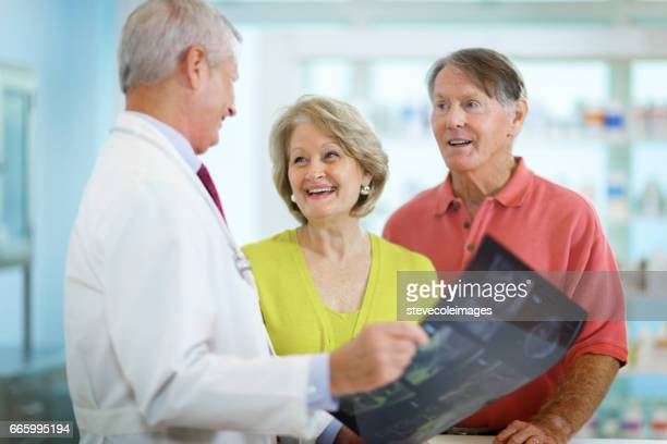 Senior Couple and Doctor
