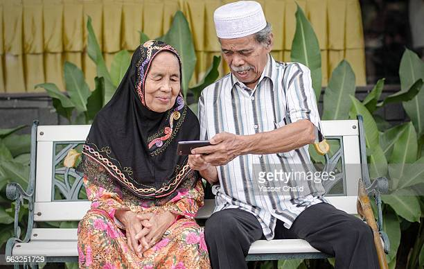 Senior Couple and Technology