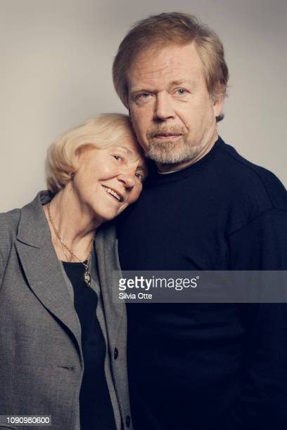 Senior couple being close, arm and arm