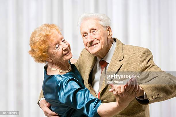 senior couple dancing - ballroom dancing stock pictures, royalty-free photos & images
