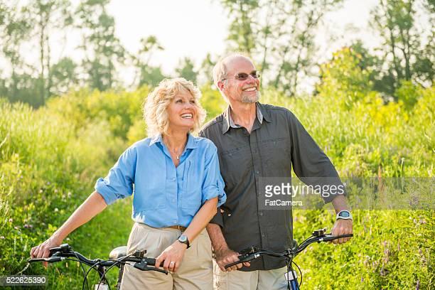 Altes Paar Genießen Sie Ihren Urlaub